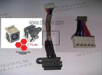 dc7 Dell Inspiron 14z i3 Laptop dcjack power harnes cable connector for Laptop repairing
