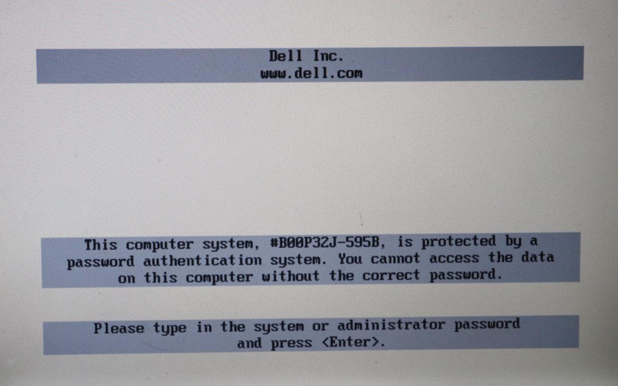 Dell Bios Password Generator Download Free
